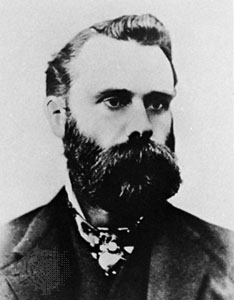 American journalist and founder of the DJIA, Charles Dow