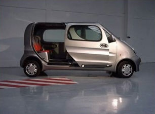 Tata MiniCat Air Powered Car