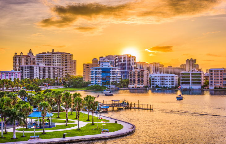 Sarasota is one of the best places to retire in Florida