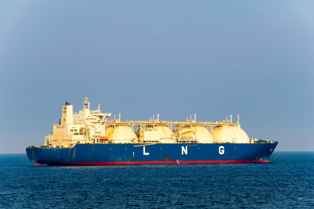 Natural gas can be turned into LNG.