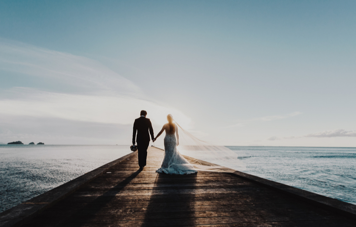 How much does a wedding cost in general