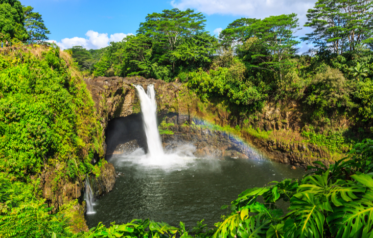 Best places to retire in Hawaii near Rainbow Falls