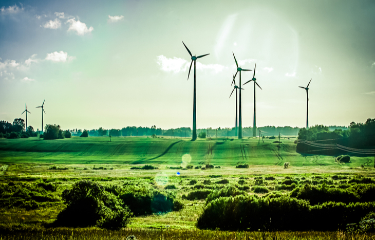 invest in renewable energy wind farm