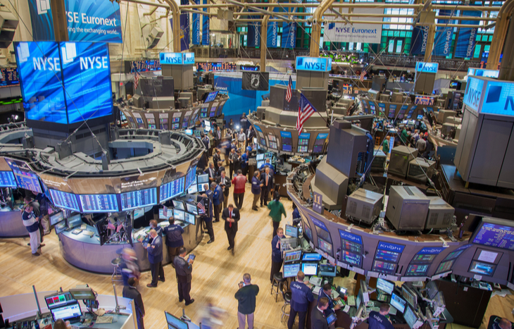 The New York Stock Exchange takes up 21 rooms.
