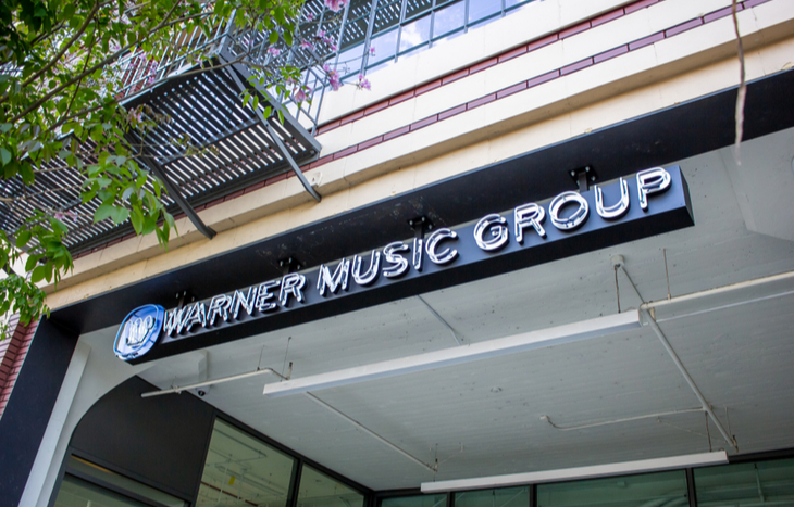 Warner Music Group announces an IPO after filing with the SEC.