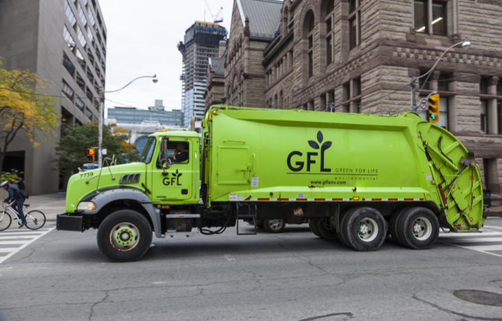 A GFL IPO successfully raised $1.4 billion.