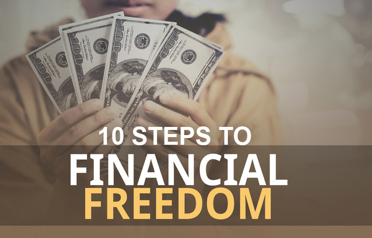 10 steps to financial freedom
