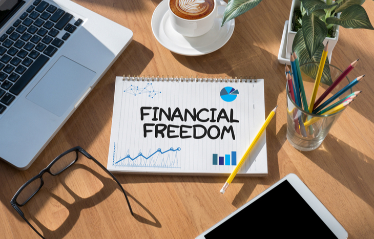 Financial Freedom books notes and studying