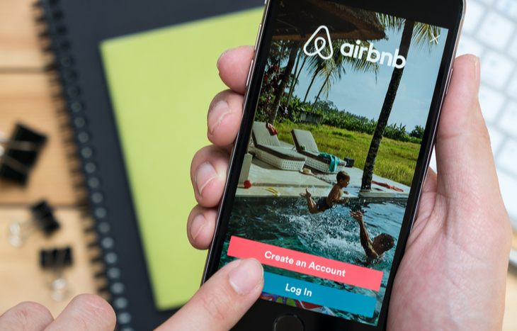 An Airbnb IPO was announced by CEO Brian Chesky, co-founder of the vacation rental company.