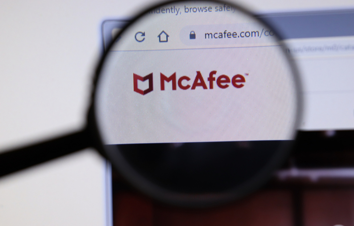 A McAfee IPO will bring McAfee stock back to the public market.