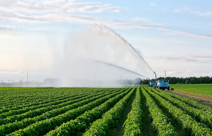 Water futures could impact the cost of watering crops