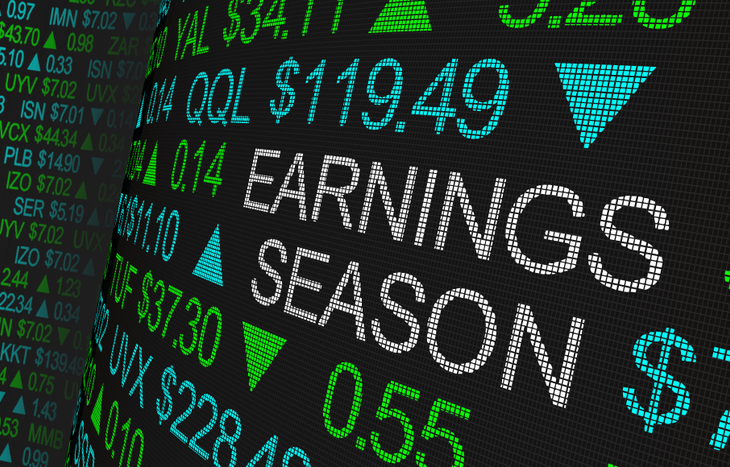 What are earnings strangles