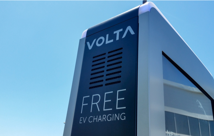 The Volta IPO lets you invest in a network of charging stations like the one pictured.