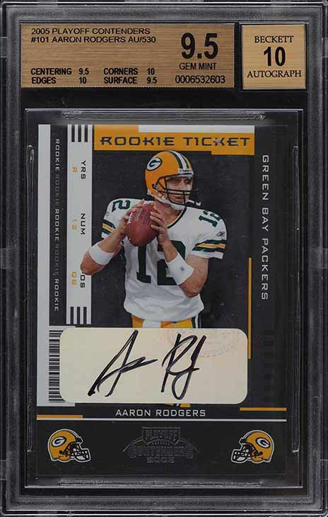 Sports Card Investors Aaron Rodgers
