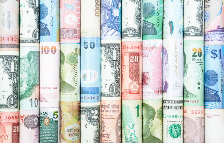 Currency trading is all done online through the forex market