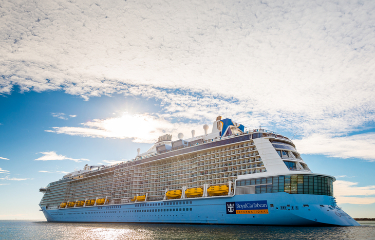 Royal Caribbean stock price is up due to vaccine rollout