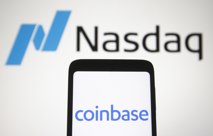 Coinbase stock is coming to the Nasdaq.