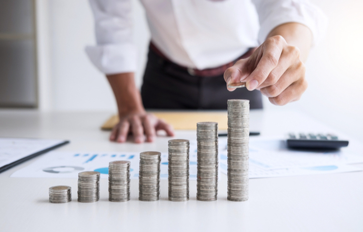 stacking income from high dividend small cap stocks