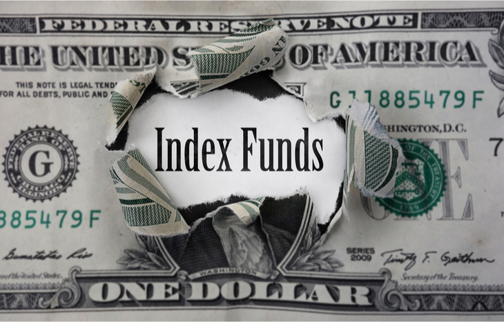 Invest in index funds to make money