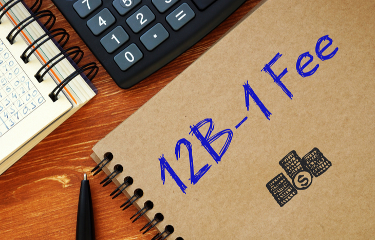 What is a 12b-1 fee?