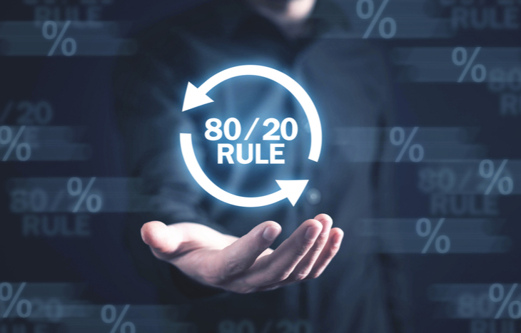 What is the 80-20 rule?