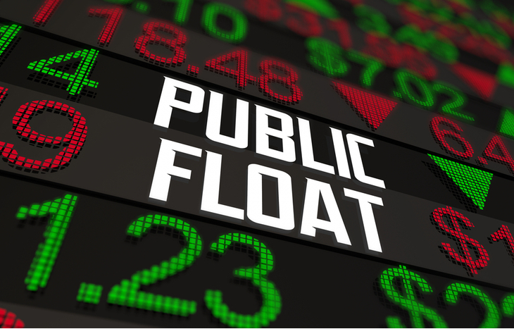 low float stocks featured on the big board.