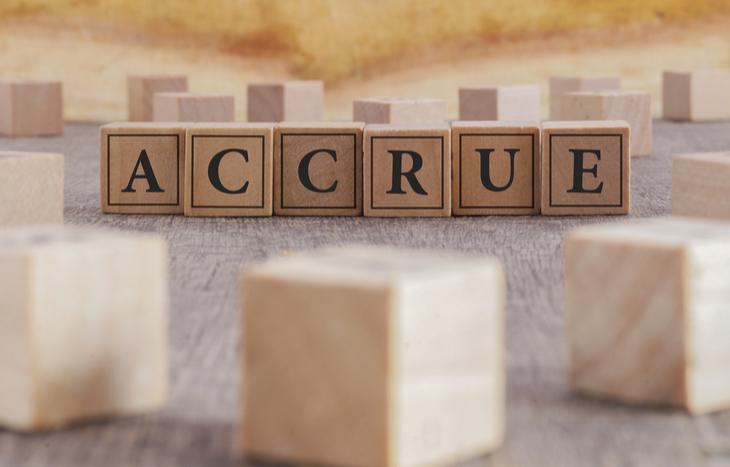What is accrued revenue