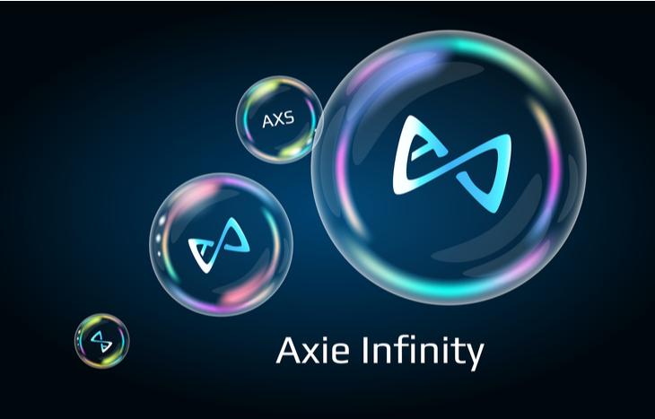 Illustration of AXS crypto logo