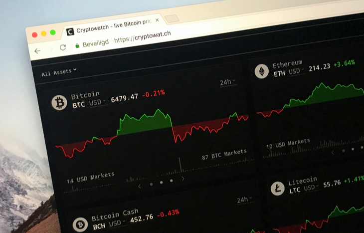 A view of the desktop version seen during this Cryptowatch review