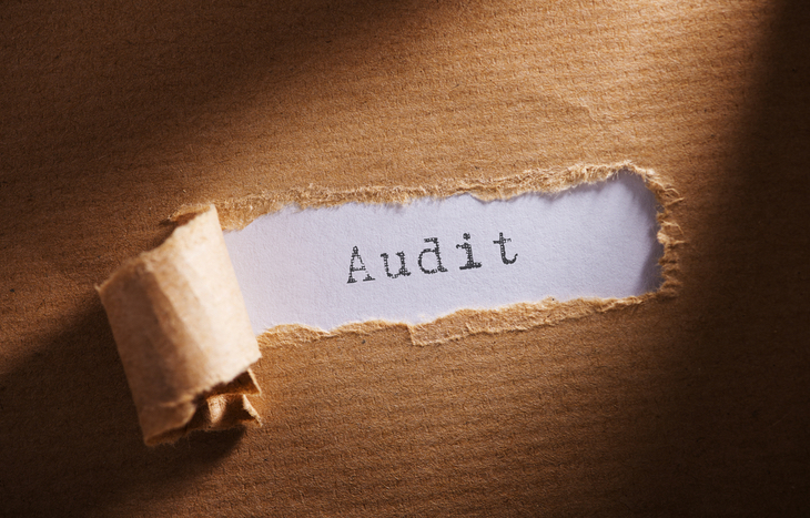 An external audit report for a company