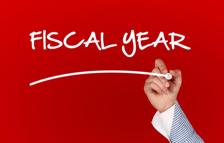 Comparing a fiscal year vs. calendar year