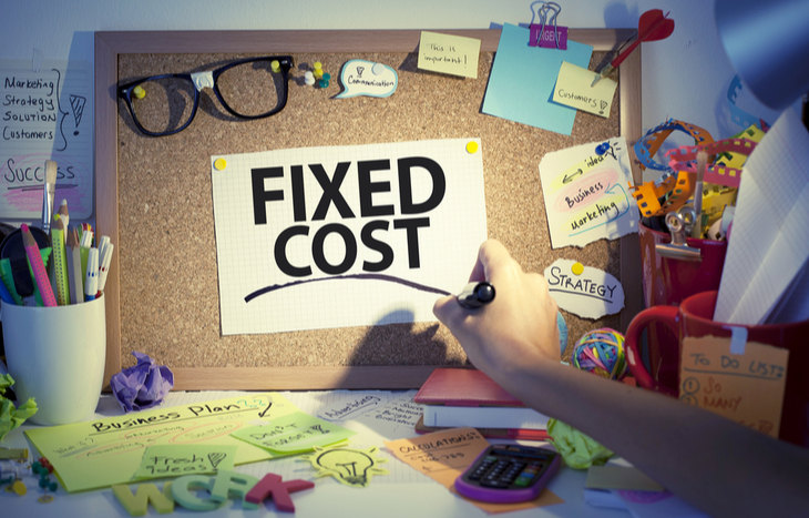 What is the fixed cost
