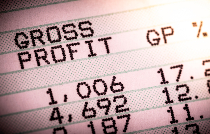 Understand the gross profit of a business