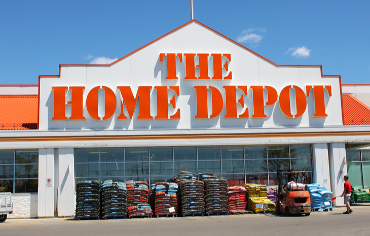 home depot stock forecast and store