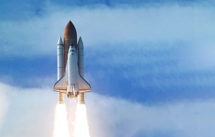 rocket and space stocks reaching new highs