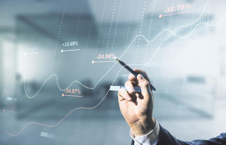 AI penny stocks chart