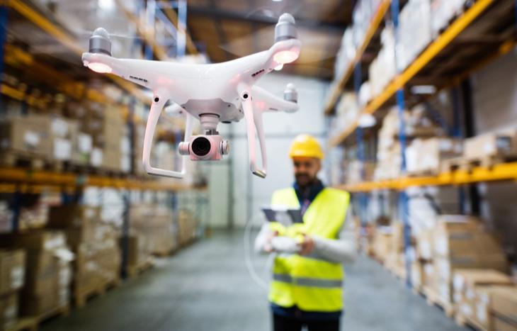 drone stocks warehouse