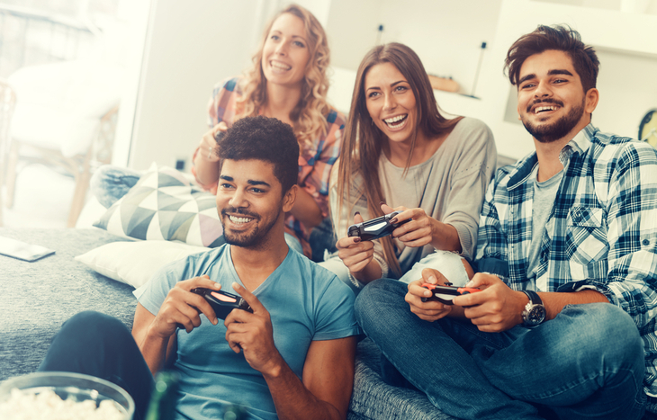 video game stocks climb higher with more players online