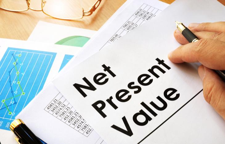 Determine the present value