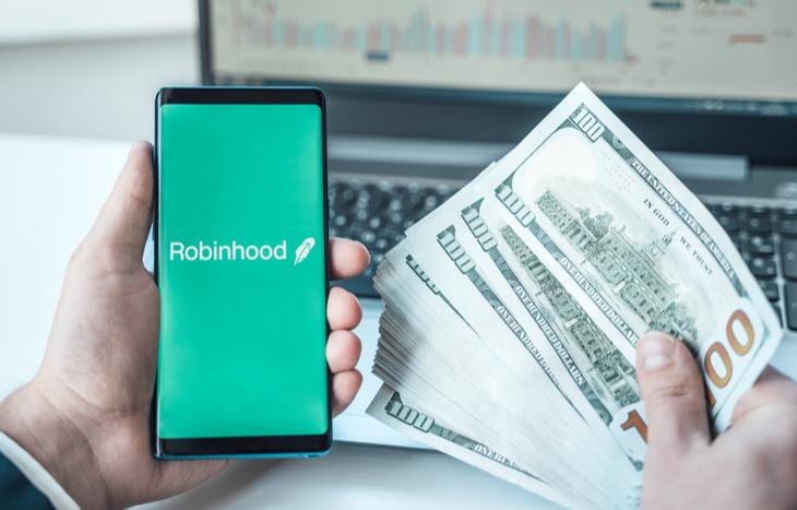 Gains from Robinhood stocks under $1
